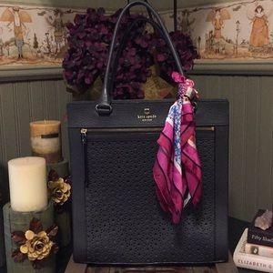 Kate Spade Perri Lane Navy Tote Bag